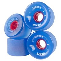 JUCKER HAWAII Longboard Skate Ruedas FOAM BALLS 65mm 80A...
