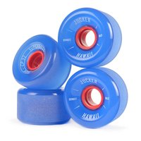 JUCKER HAWAII Ruedas de Longboard SUPERBALLS 70mm 80A...