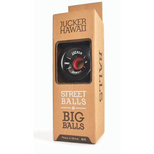 JUCKER HAWAII Ruedas de Longboard BIG BALLS 74mm 80A CP45 (4er)